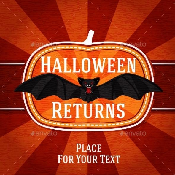 GraphicRiver Halloween Card 9024005