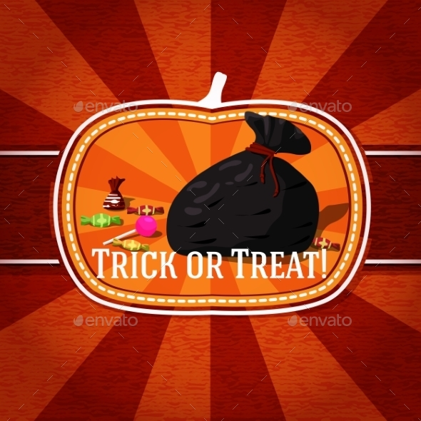 GraphicRiver Halloween Card 9024012