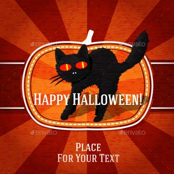 GraphicRiver Halloween Card 9024019