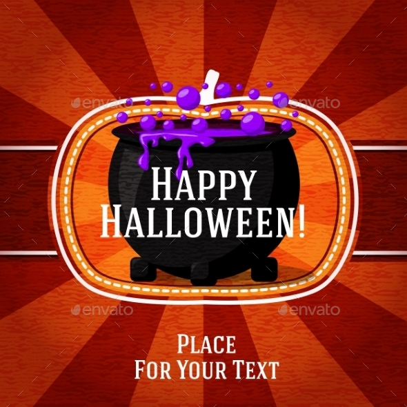 GraphicRiver Halloween Card 9024025