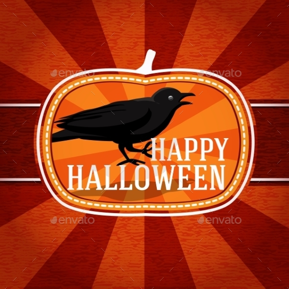 GraphicRiver Halloween Card 9024028