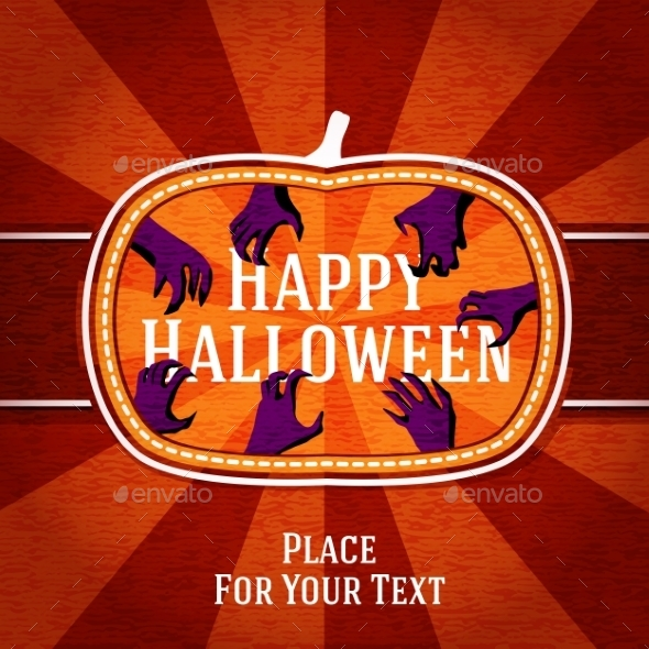 GraphicRiver Halloween Card 9024030