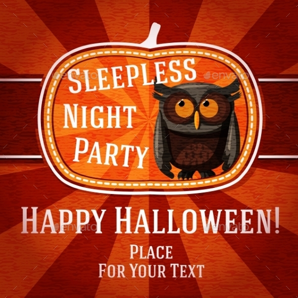 GraphicRiver Halloween Card 9024053