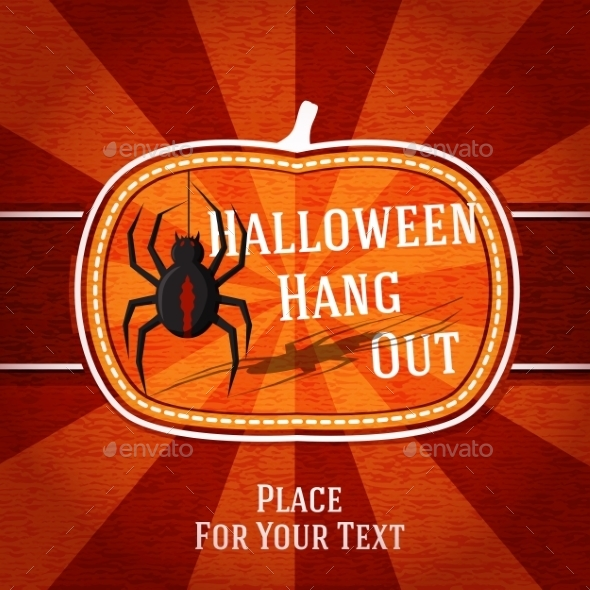 GraphicRiver Halloween Card 9024056
