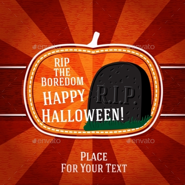 GraphicRiver Halloween Card 9024057