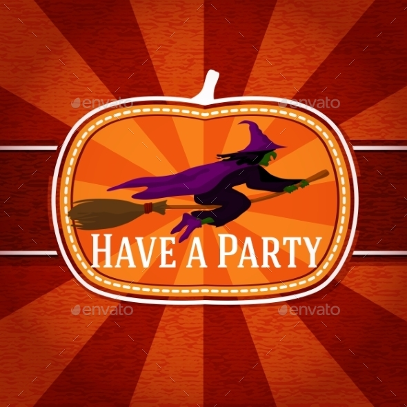 GraphicRiver Halloween Card 9024059