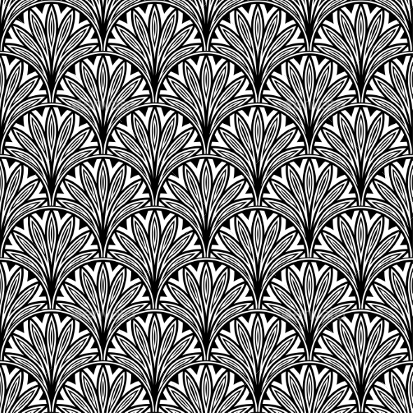 GraphicRiver Decorative Floral Pattern 9024462