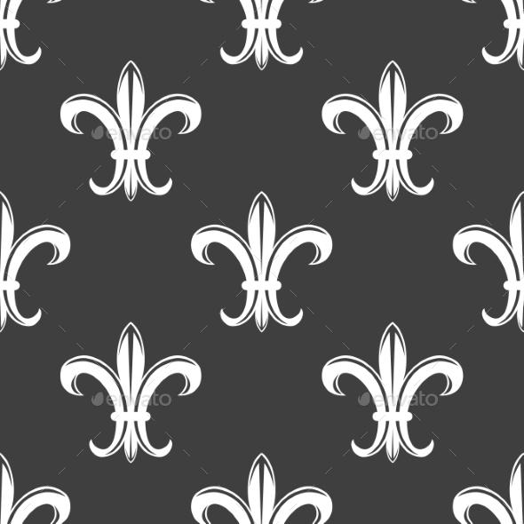 GraphicRiver Fleur de Lis Pattern 9024464