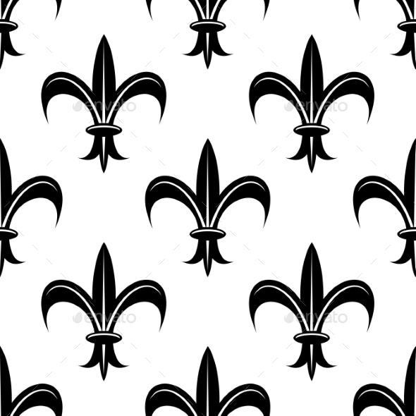 GraphicRiver Fleur de Lis Pattern 9024465