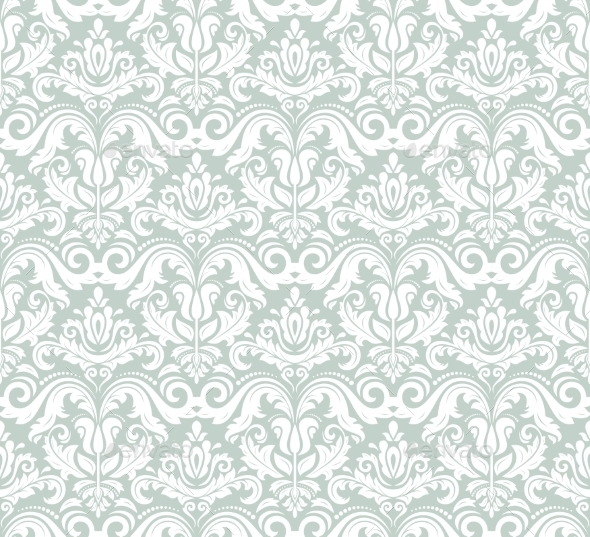 GraphicRiver Floral Seamless Vector Pattern 9024719