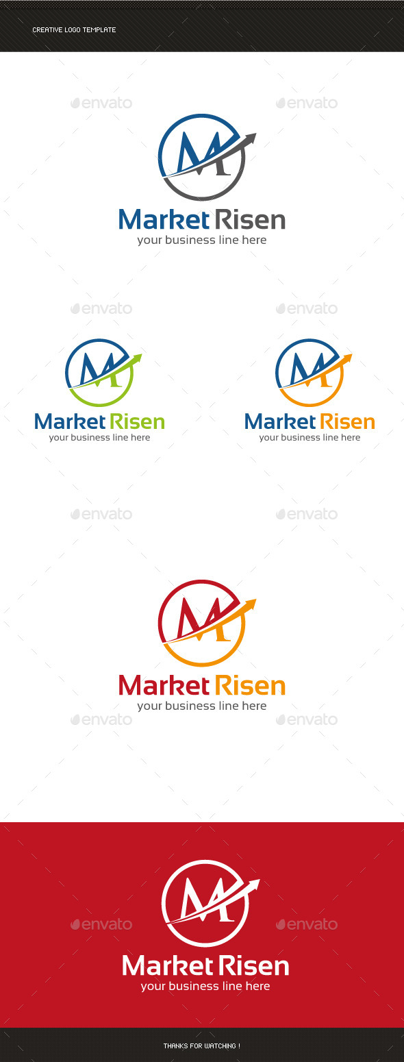 M Letter Marketing Logo