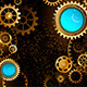 Dark Background with Gears - GraphicRiver Item for Sale
