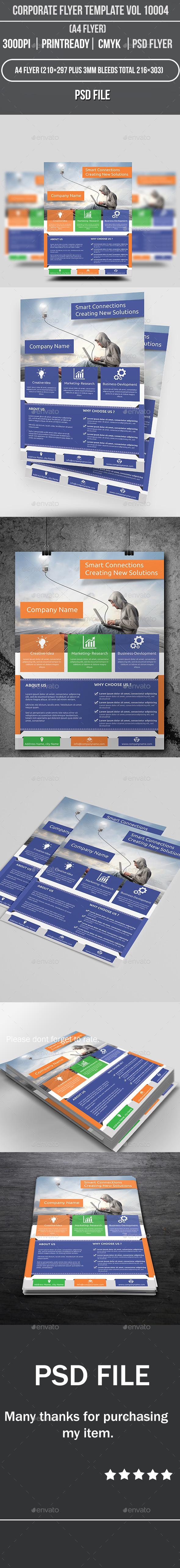 GraphicRiver Corporate Flyer Template Vol 10004 9025589