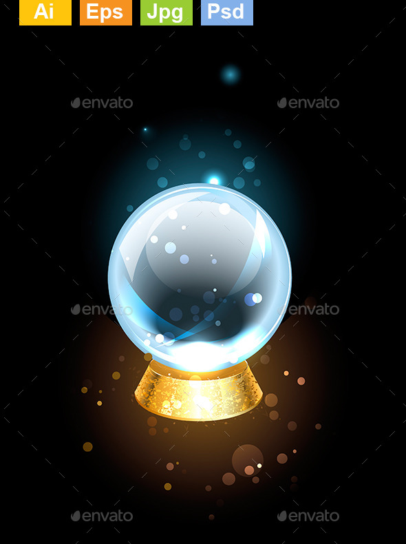 GraphicRiver Scrying Ball 9025649
