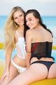 Two playful women in underwear - PhotoDune Item for Sale