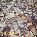 cracked stone rock in the style of grunge - PhotoDune Item for Sale