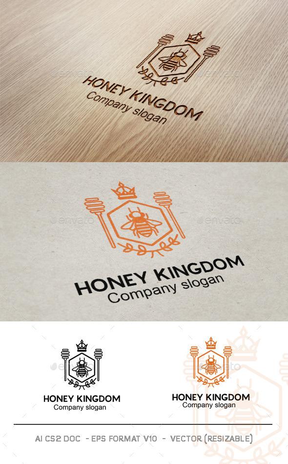 GraphicRiver Honey Kingdom Logo 9025985