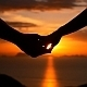 Love Couple Holding Hands at Sunset - VideoHive Item for Sale