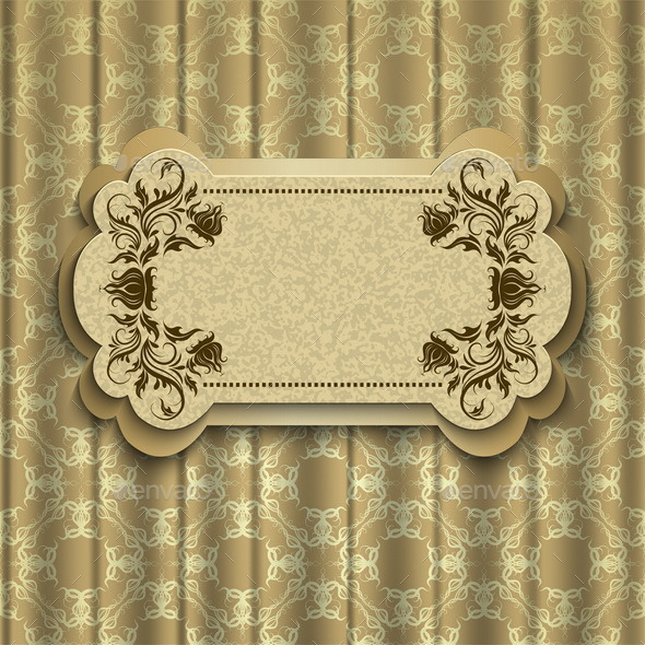 GraphicRiver Elegant Frame on a Background 9026154