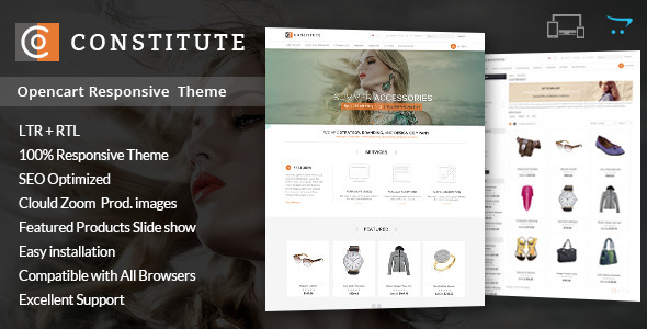 ThemeForest Constitute Opencart Responsive Theme 9026190