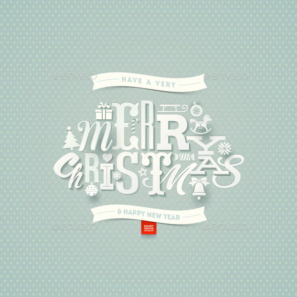 GraphicRiver Christmas Type Design 9026754