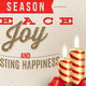 Christmas Type Design with Holidays Decoration - GraphicRiver Item for Sale