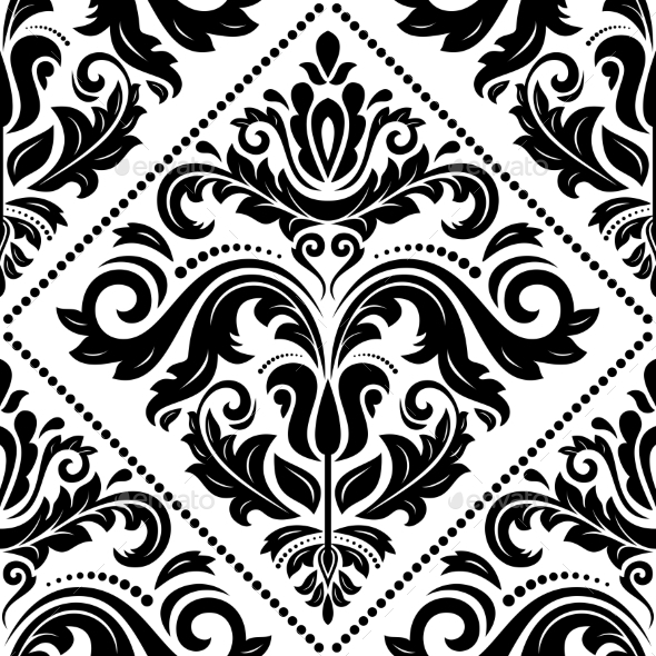 GraphicRiver Damask Seamless Vector Pattern 9026979