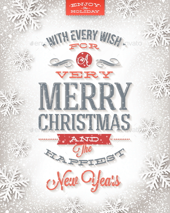 GraphicRiver Vector Christmas Greeting Card 9026986
