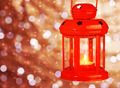 Red antique Christmas lamp - PhotoDune Item for Sale