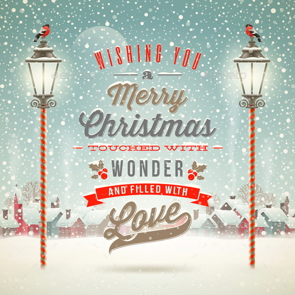 GraphicRiver Christmas Greeting Type Design 9027052