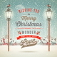 Christmas Greeting Type Design - GraphicRiver Item for Sale