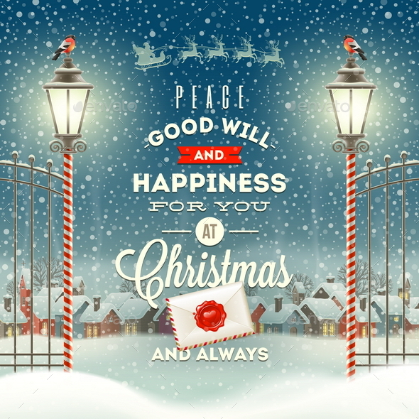 GraphicRiver Christmas Greeting Type Design 9027097