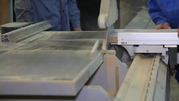 Cutting of Wooden Blanks