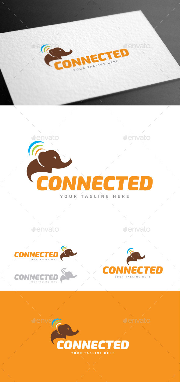 GraphicRiver Connected Logo Template 9027560