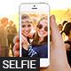 Selfie Mock-Up - GraphicRiver Item for Sale
