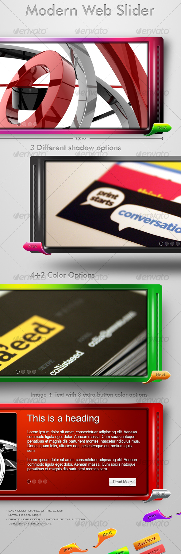 GraphicRiver Modern Web Slider 117084