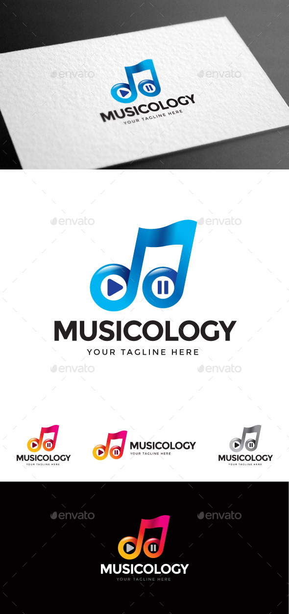 GraphicRiver Musicology Logo Template 9027900