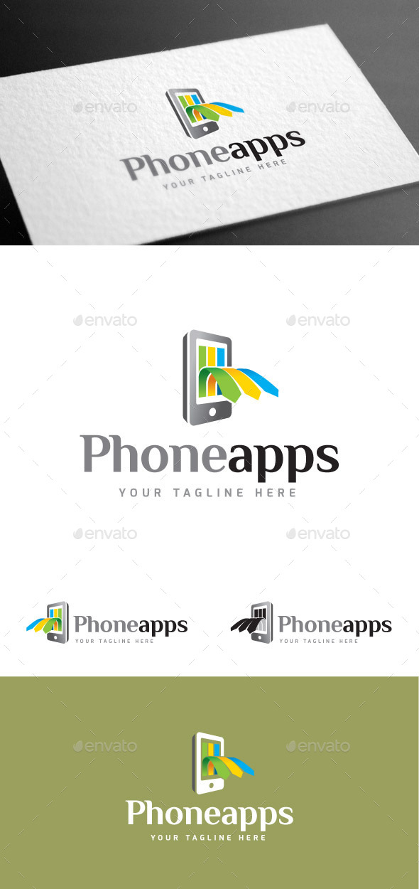GraphicRiver Phoneapps II Logo Template 9027954
