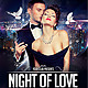 Night of Love Party Flyer Template - GraphicRiver Item for Sale