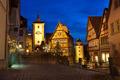 Rothenburg ob der Tauber by night - PhotoDune Item for Sale
