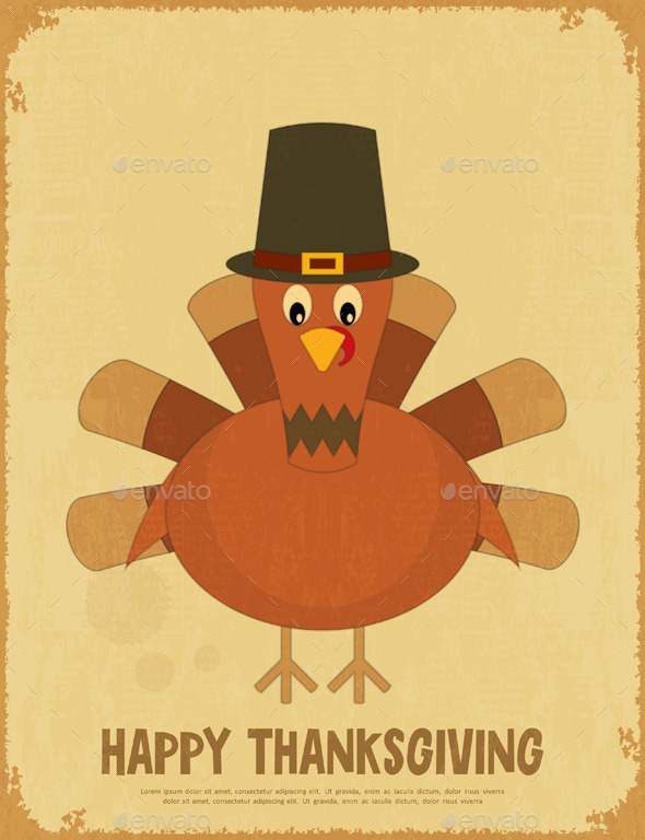 GraphicRiver Thanksgiving Day 9028551