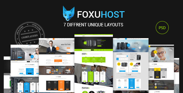 ThemeForest Foxuhost Hosting Business Template 9002251