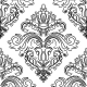 Damask Seamless Vector Pattern Orient Background - GraphicRiver Item for Sale