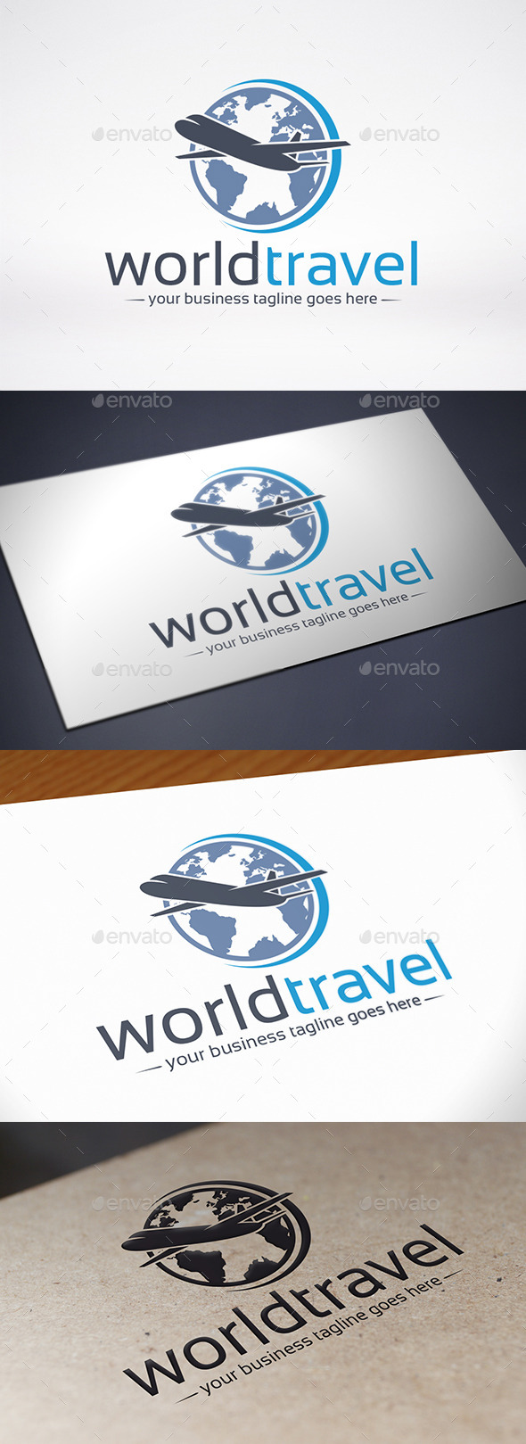 GraphicRiver World Travel Logo Template 9029362
