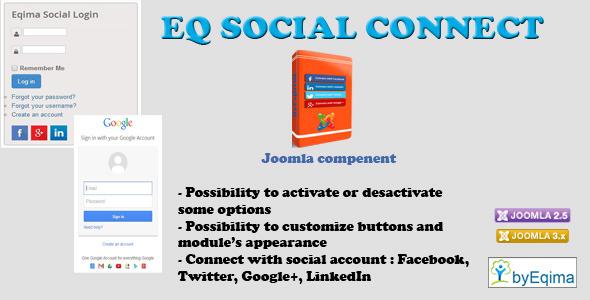 CodeCanyon EQ Social Connect 9029601