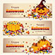Retro Halloween Banners - GraphicRiver Item for Sale
