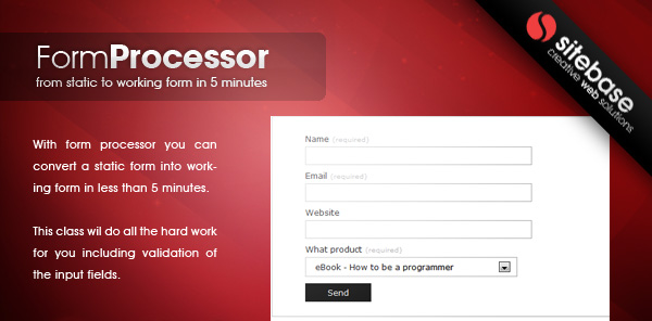 Form Processor - CodeCanyon Item for Sale