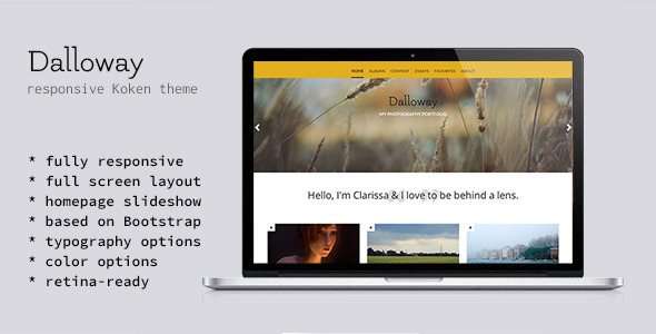 Dalloway - CMS Themes