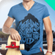 T-Shirt Vneck Man Mock-up  - GraphicRiver Item for Sale