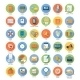 Set for Business and Office Applications Icons - GraphicRiver Item for Sale